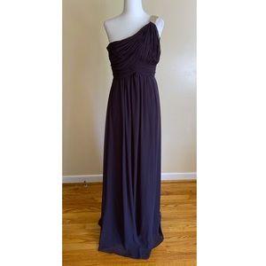 Calvin Klein One Shoulder Evening Dress